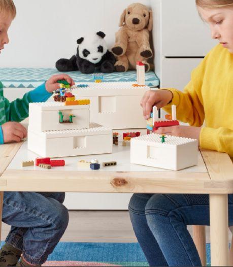 LEGO et IKEA s'associent: les enfants vont enfin aimer ranger leur chambre