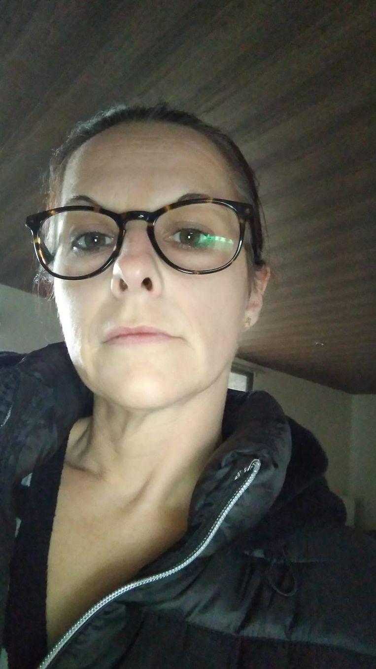 Marleen Stevens vond dinsdagochtend haar wagen gestript terug.