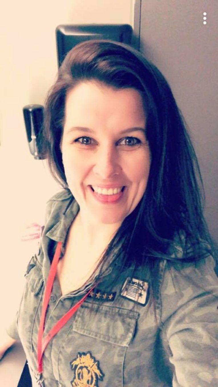 Melissa Rogiers werd door haar ex-vriend neergestoken in de bakkerij.