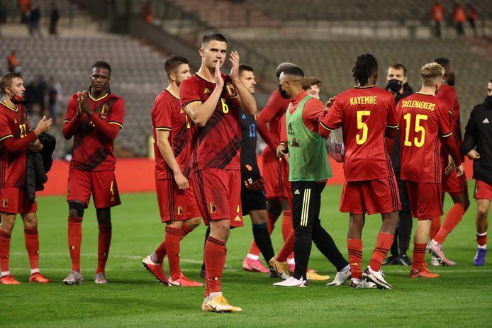 Les Diables avaient retrouvé une partie de leurs supporters contre la Côte d'Ivoire, début octobre, ils joueront à nouveau dans un stade vide leurs trois rencontres de novembre.