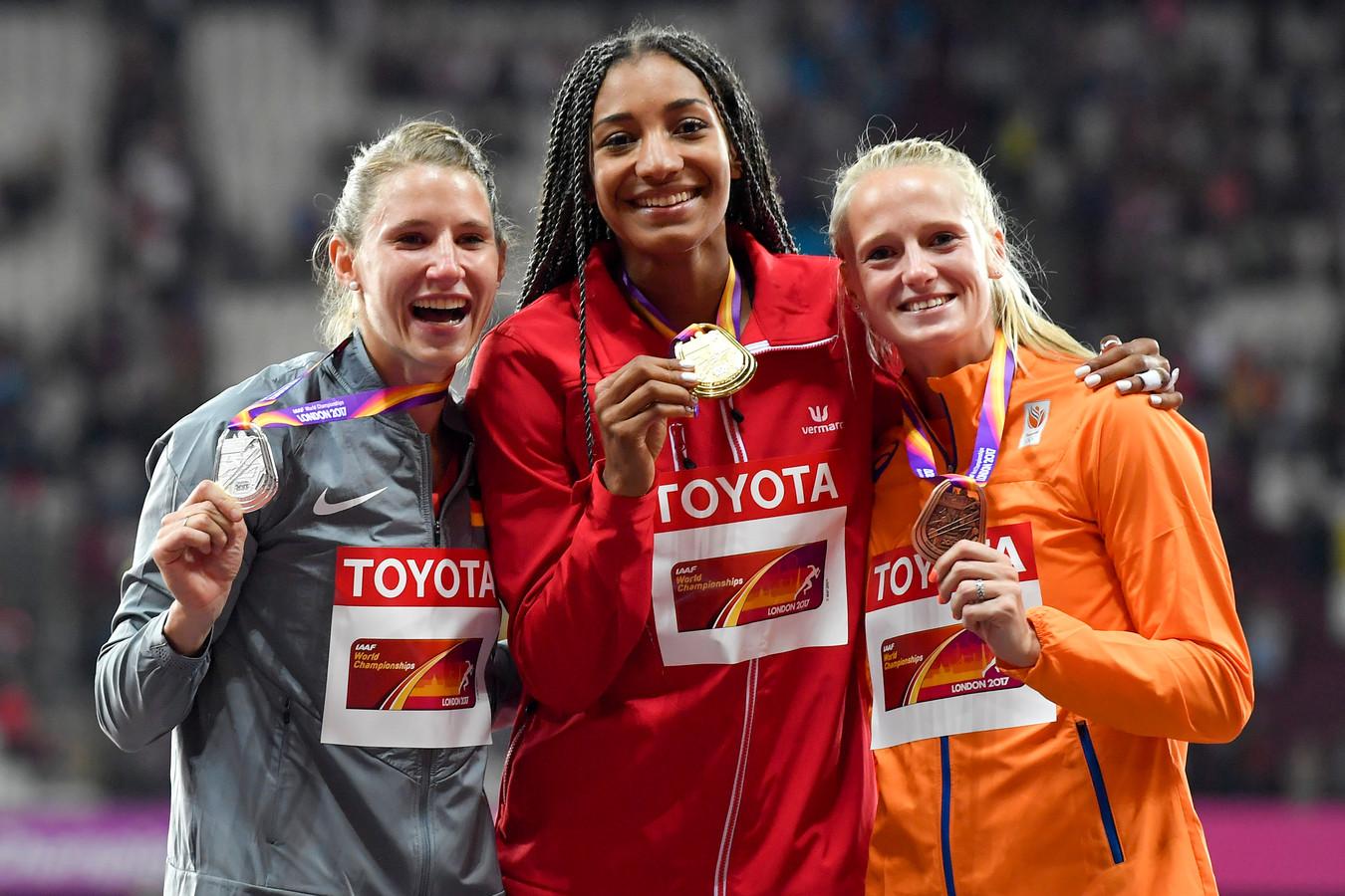 A Doha, Nafissatou Thiam défendra le titre conquis il y a deux ans à Londres.