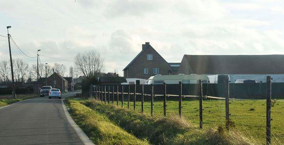 Het terrein op de Nieuwenrodestraat in Meise