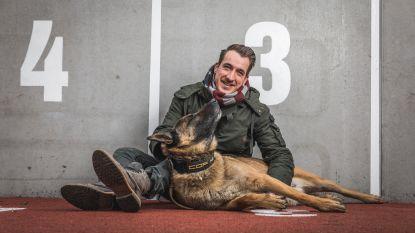 """Andy Peelman met zijn superhond in 'De Buurtpolitie': """"Sterallures heeft hij nog niet en ik ook niet, hoop ik"""""""