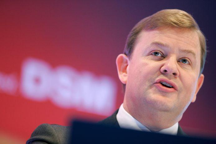 Feike Sijbesma, topman van DSM en uitgeroepen tot 'meest invloedrijke Nederlander'.