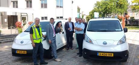 Elektrische busjes voor ambtenaren in klimaatneutrale Heuvelrug