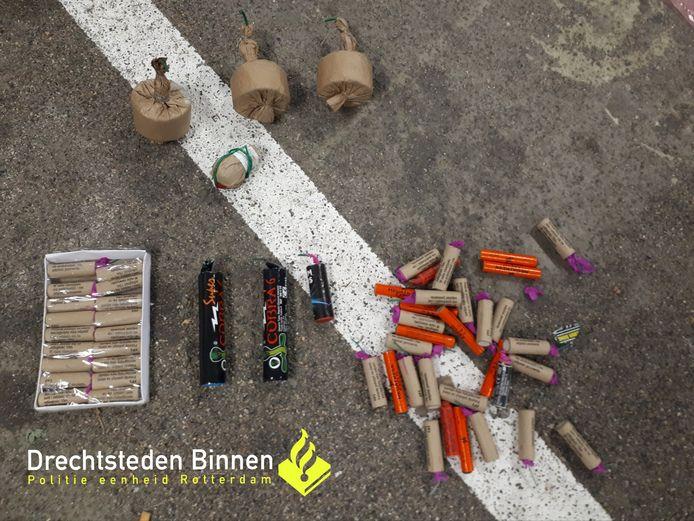 Illegaal vuurwerk gevonden in Krispijn.