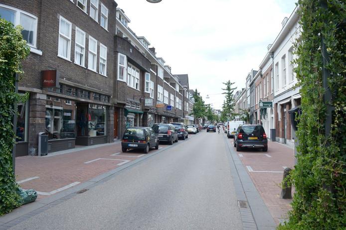 Van Welderenstraat moet meer een voetgangersgebied worden.