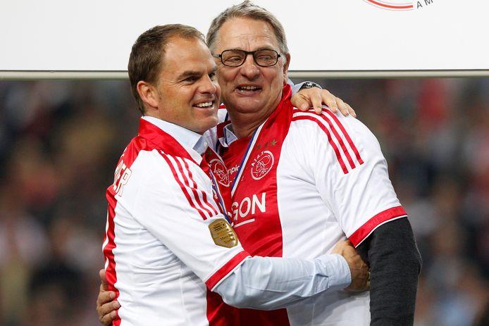 Frank de Boer werkte bij Ajax samen met Hennie Spijkerman, een type Dwight Lodeweges.