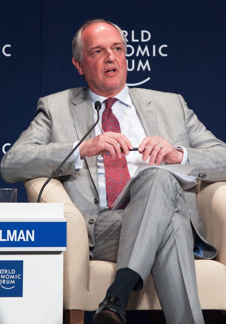 Unilever-topman Paul Polman. Beeld epa