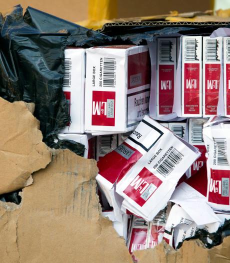 Belgische douane neemt 126 miljoen namaaksigaretten in beslag, ook grote vondsten in Brecht en Stabroek