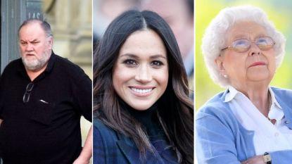 """Britse Queen is """"furieus"""" op vader van Meghan Markle na paparazzi-schandaal en zijn afzegging voor huwelijk"""