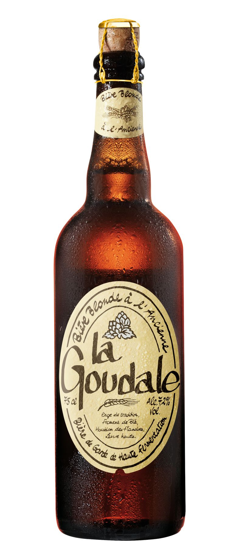 La Goudale: een moutige en zachte doordrinker. Beeld .