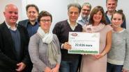 Vergroot de Hoop schenkt 22.026 euro aan Kinderkankerfonds