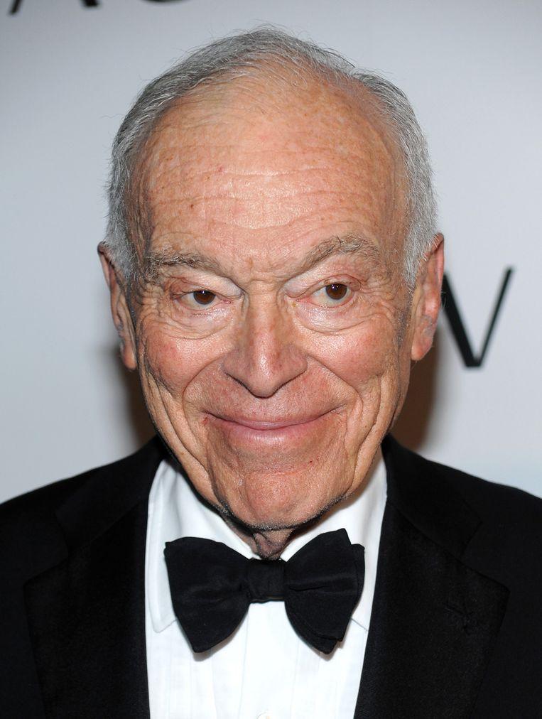 De 80-jarige filantroop Leonard Lauder is de zoon van Joseph en Estée Lauder. Beeld ap