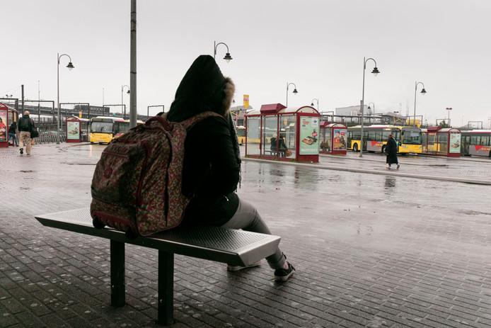 Quai de la gare de Charleroi Sud