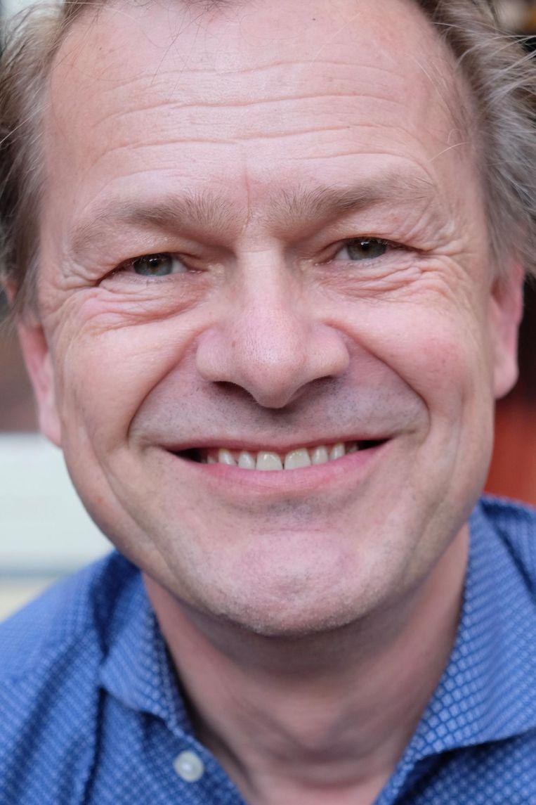 Pim de Ruiter, woordvoerder van Stadgenoot Beeld Ton Damen