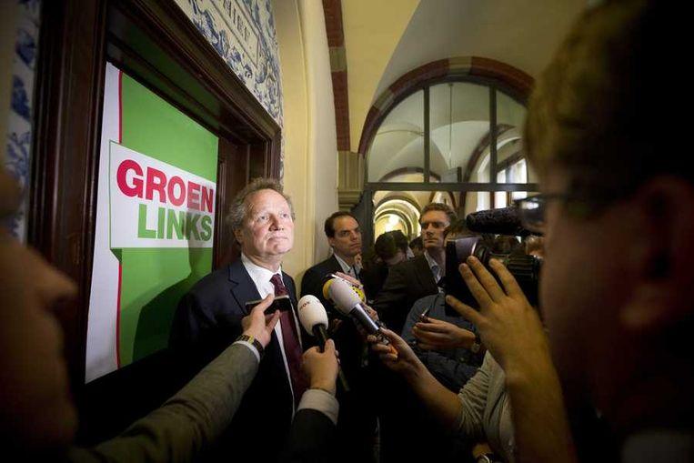 GroenLinks-fractievoorzitter Bram van Ojik. Beeld anp
