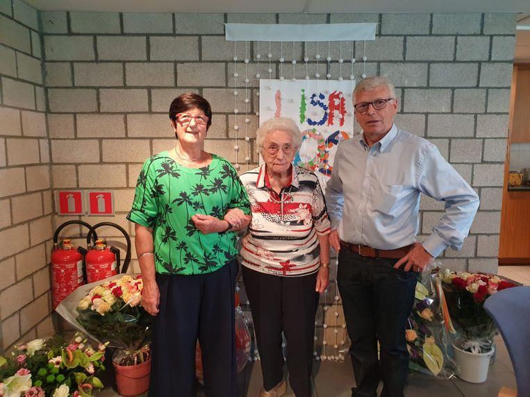 Lisa Lemmens vierde haar 100ste verjaardag.