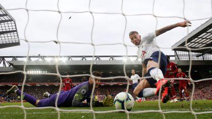 Liverpool houdt titelstrijd spannend met dank aan... Alderweireld