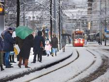 Politie extra druk door verwachte sneeuw