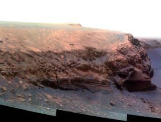 Wat doet Curiosity nu de zon in de weg staat?