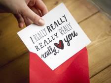 Wie in Voorst of op Urk woont hoeft niet te rekenen op een Valentijnskaartje