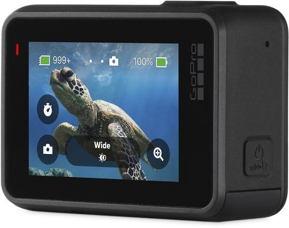 Bij gebruikers die de wat ruigere kicks opzoeken in hun lichaamsbeweging zijn action cams, zoals deze GoPro Hero7, enorm populair.