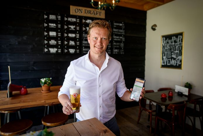 Tom Maneschijn, 'Vice President Europe Operations' van bierapp Untappd.