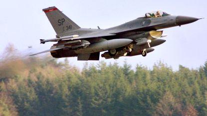 Amerikaanse F-16 neergestort nabij Duitse stad Trier, piloot kan schietstoel gebruiken
