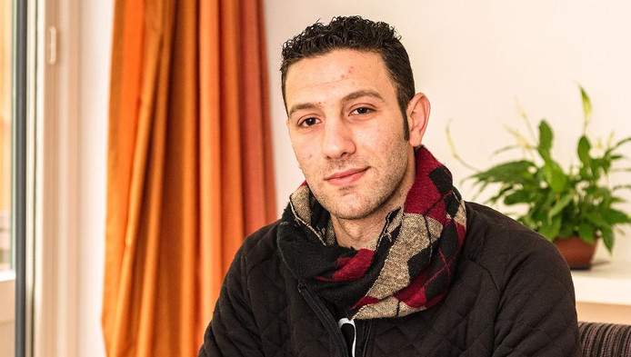 Zahar Nabhan uit Syrië wil ICT'er worden.