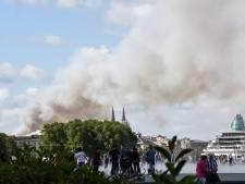 Important incendie dans le centre de Bordeaux