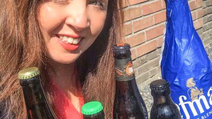 """Deze streekbiertjes prijst Sofie Vanrafelghem aan om thuis van te genieten: """"Steun niet alleen de horeca, maar ook de plaatselijke brouwers"""""""