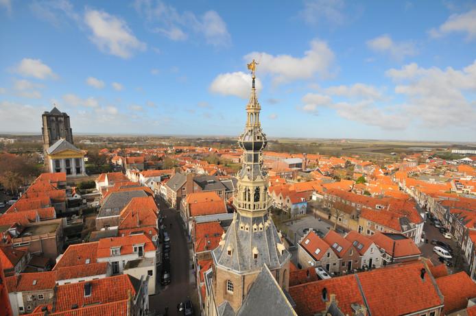 De Meelstraat is rijk aan monumentale gebouwen.