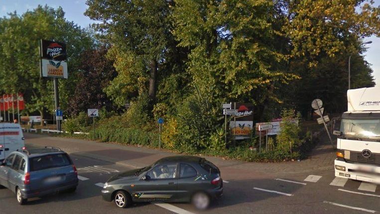De Pizza Hut aan de A12 in Wilrijk.