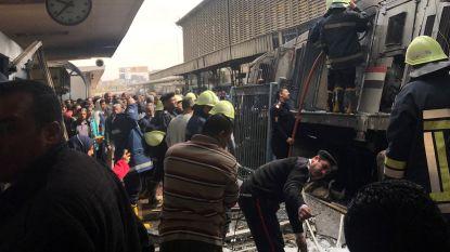 Minstens twintig doden bij brand in belangrijkste treinstation van Caïro