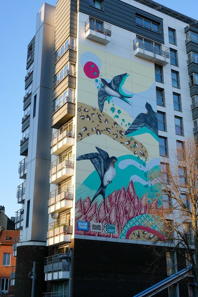 De frescoivan street artist Jana Danilovic