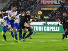 Ook met Zlatan wint Milan niet, hattrick Ronaldo