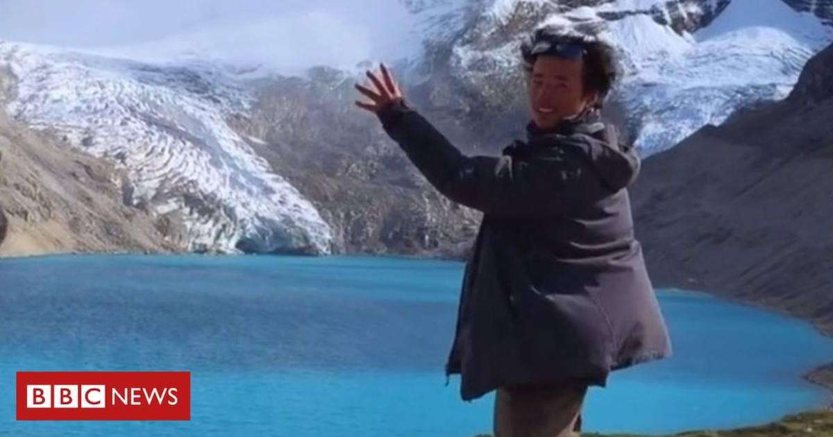 Gletsjerjager met miljoenpubliek verongelukt tijdens maken video smeltende ijsplaat.
