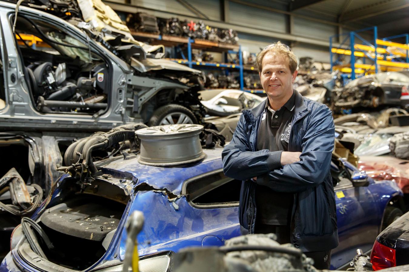 De Vlaardingse autosloper Dave Penders.