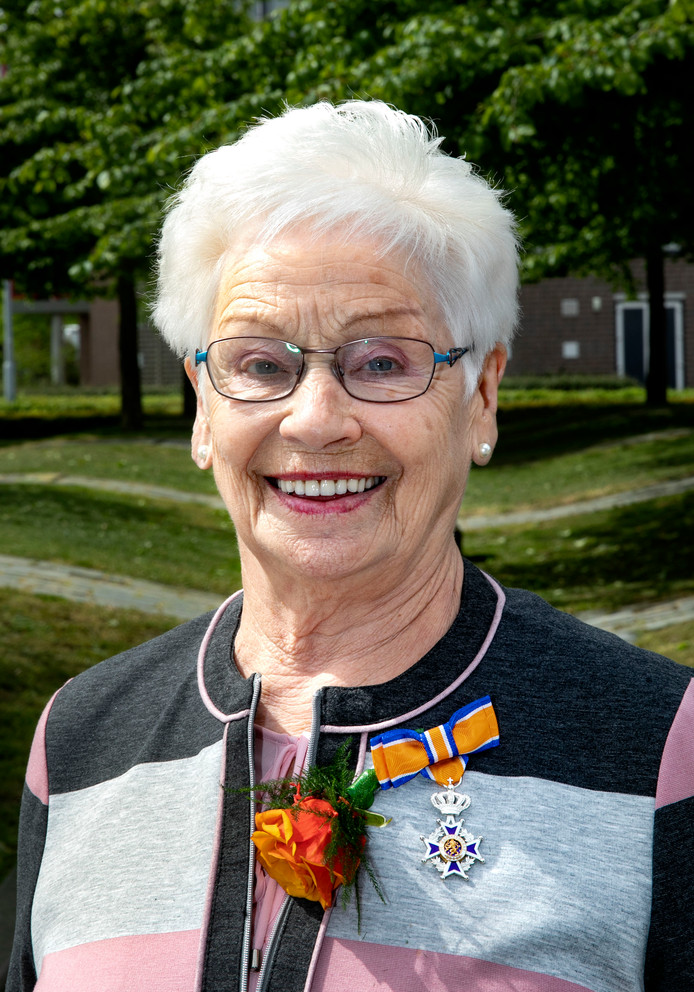 Guusta Mathijsen - Eijsermans in Veldhoven.