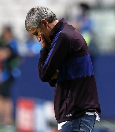 L'ex-coach du Barça Quique Setién menace de poursuivre le club en justice