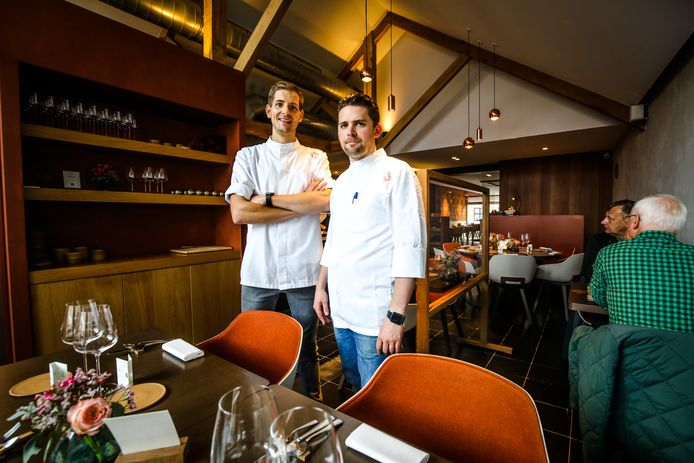 Dries Cracco en Thomas Puype van Franco Belge doen mee aan het thema 'herfst'.
