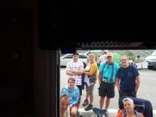 Spanning stijgt bij camper van Ine van Ansem en Wim van Es uit Milheeze