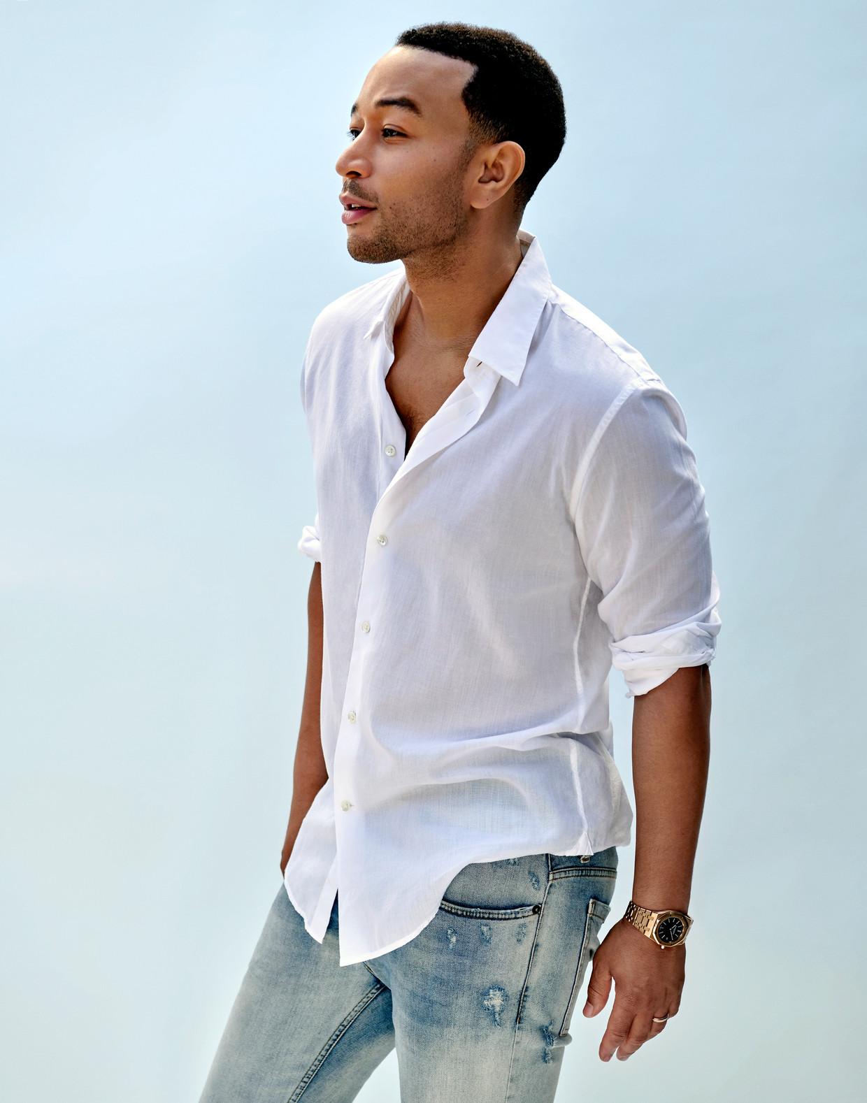 John Legend: 'Ik was zo'n jongetje dat al heel snel dingen als Für Elise kon spelen.' Beeld Sony Music