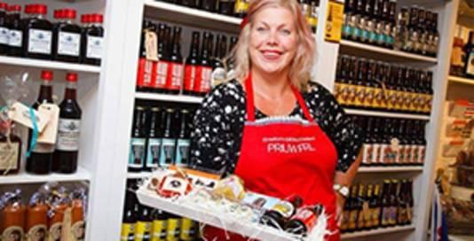 Tot de leukste winkel werd verkozen De Friese Streekwinkel Priuw, een echte Friese delicatessenwinkel.