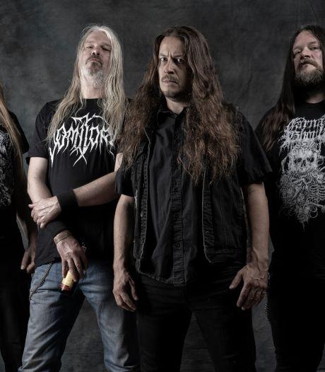 Deathmetalband Asphyx met Oldenzaalse zanger Martin van Drunen viert tiende album met een speciale coronashow
