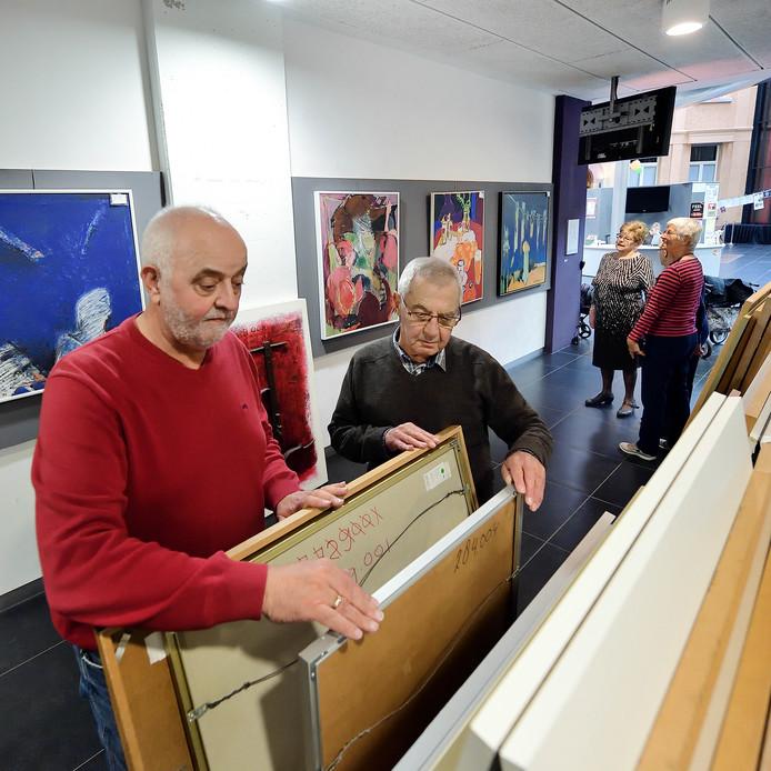 De kunstuitleen zat de laatste jaren in Roosendaal in Parrotia.