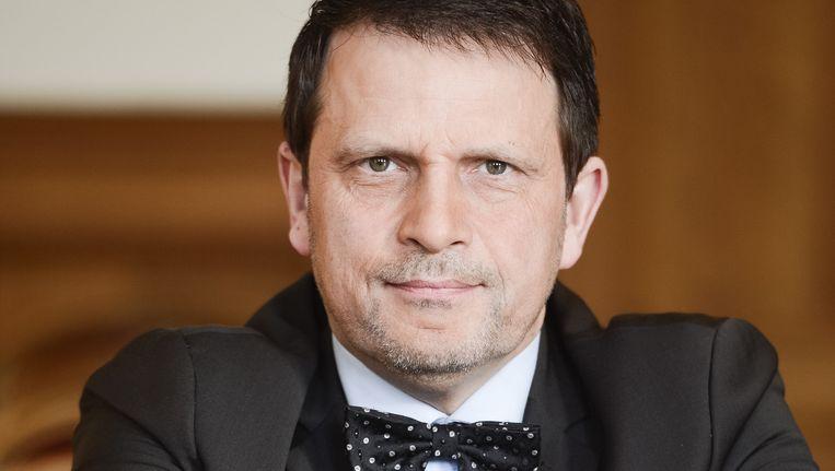 Burgemeester Richard Fournaux.
