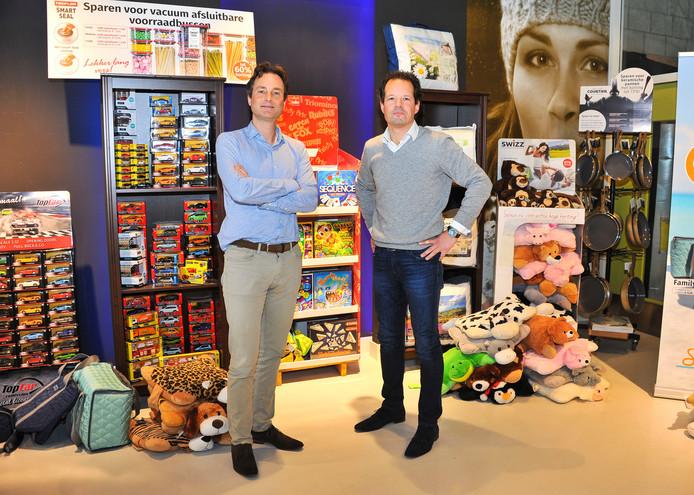 Directeuren Berend Berger (rechts) en Wido Duncker van Sunshine Loyalty in Best.