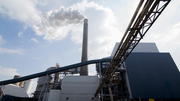 Exterieur van de Nuon kolencentrale Hemweg 8. Beeld anp